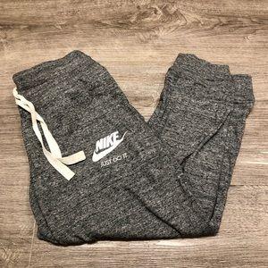 Nike Grey Capri Light Joggers